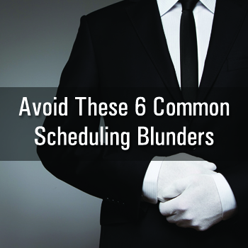 Scheduling Blunders